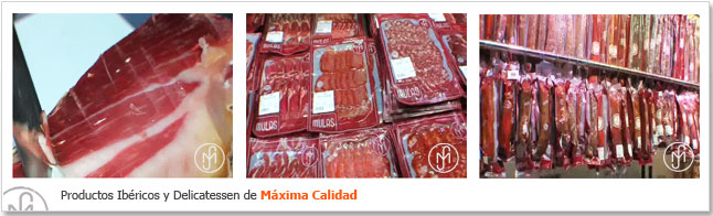 Iberian products and Delicacies. High Quality